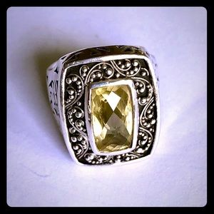 Lois Hill Limone Quartz Ring